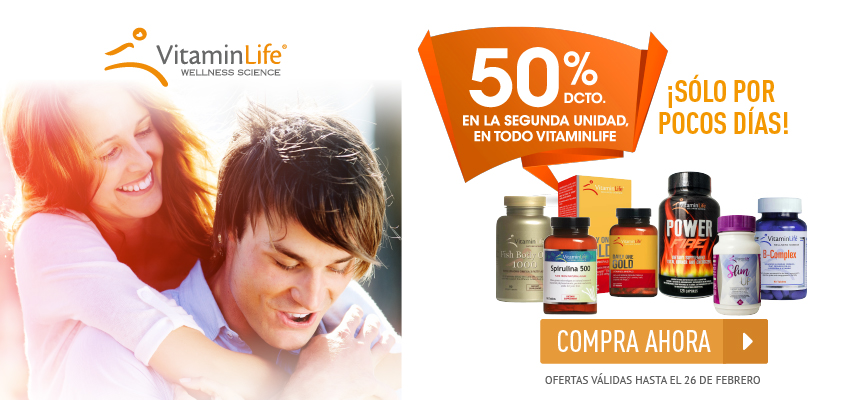 Vitaminlife banner home