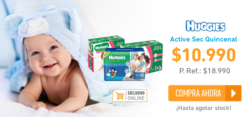 Huggies quincenal home exclusivo online