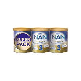 Pack de leches Nan Optipro 3