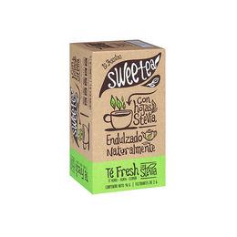 Té Fresh endulzado naturalmente con Stevia