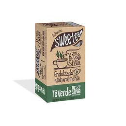 Té verde endulzado naturalmente con Stevia