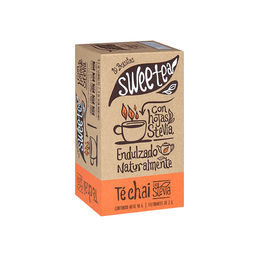 Té Chai endulzado naturalmente con Stevia