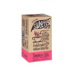 Té Jamaica endulzado naturalmente con Stevia