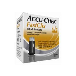 Lancetas Fastclix para la medición de glicemia