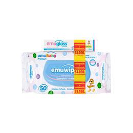 Pack de Toalla H X 50 Premium con tapa  + Emugloss de 35 gr ( Con aceite de Emu )