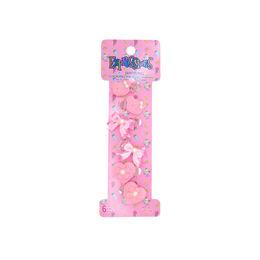 Clips de bebé variedades rosado