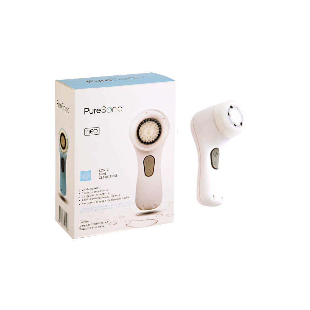 Limpiador y rejuvenecedor facial eléctrico  fd245502e79d