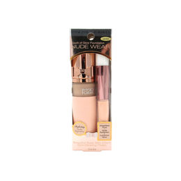 Pack de corrector en barra nude con brocha aplicadora color Light