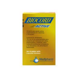 Suplemento alimentario Biocord Active