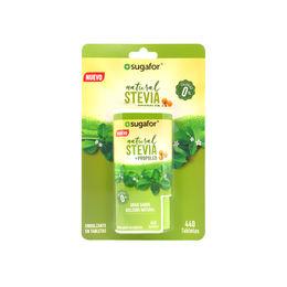 Endulzante en tabletas con Stevia