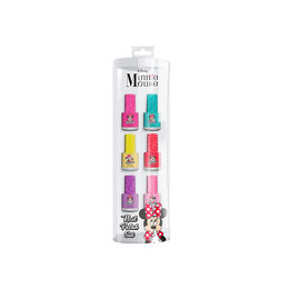 Set de esmaltes para niñas Minnie Mouse