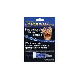 Fiprokill perros <10kg pta.x0.67ml