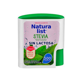 Endulzante stevia sin lactosa en Pastillas