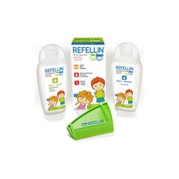 Refellin kit tratamiento de pediculicida de 135ml