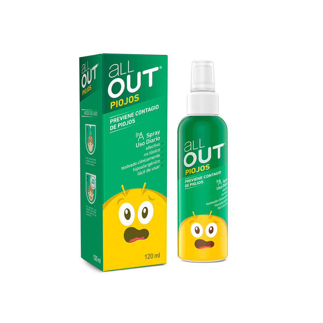 shampoo para piojos all out