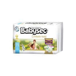 Pañales Babysec Cuidado Total