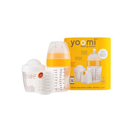 Set Yoomi Mamadera Easi-Latch 240ml y Cale