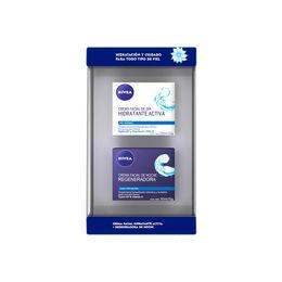 Estuche Crema Facial  Hidratante Activa  Día y Noche