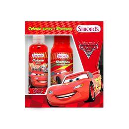 Estuche Cars con una colonia y un shampoo
