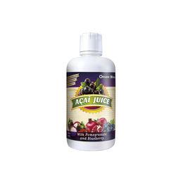 Jugo Antioxidante de  Acai con granada y arándanos