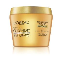 Máscara de tratamiento Oleo Therapy para cabello dañado o muy seco