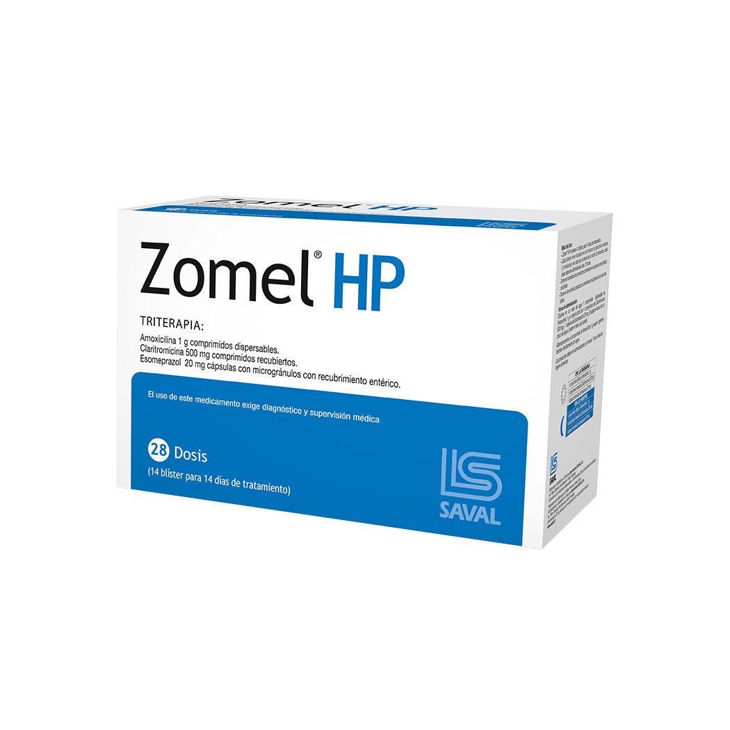 Amoxicilina 1000mg Claritromicina 500mg Esomeprazol 20mg Oral