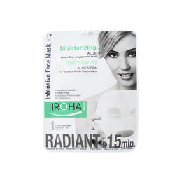 Mascarilla Intensiva hidratante, regeneradora de células cutáneas de aloe vera