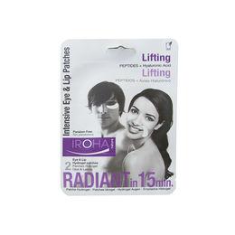 Parches de lifting intensivo para ojos y labios con Ácido Hialurónico + Péptidos