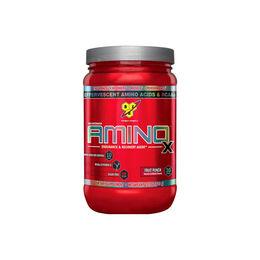 Aminoácidos en polvo Amino X  para acelerar la recuperación muscular post entrenamiento.