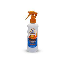 Pantalla Solar SPF 50+ Protector Hidratante Monoi c/Gatillo