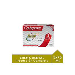 Pack de pasta de dientes Total 12 .90g 3X2
