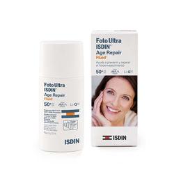 Fotoprotector Utra fluido que ayuda a prevenir y reparar el envejecimiento  SPF50