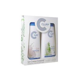 Pack de cremas corporales para todo tiepo de piel Q10 y BAMBÚ