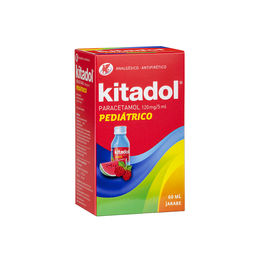 Kitadol Pediatrico en Jarabe 120mg/5ml