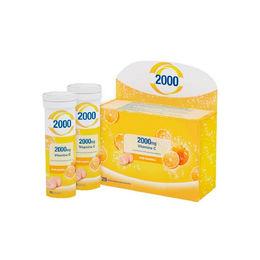 Vitamina C Efervescente para estimular las defensas Cebion 2000