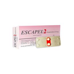 Escapel 2 de 0.75mg