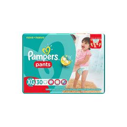 Pañal Infantil Pampers Pants Talla XG de 30 unidades