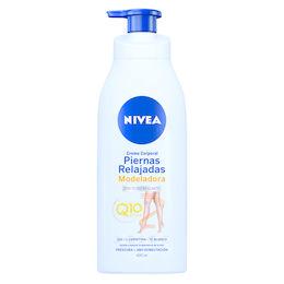 Crema corporal remodeladora para unas piernas relajadas