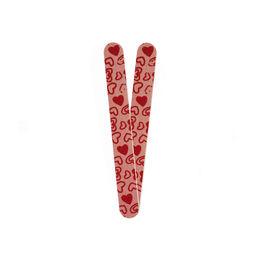 Lima de uñas diseño corazón