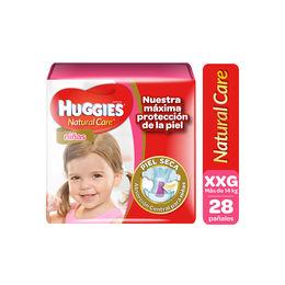 Pañal Infantil Natural Care Semanal de Niña