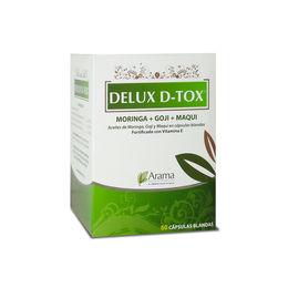 Delux D-Tox Aceite de moringa, goji y maqui