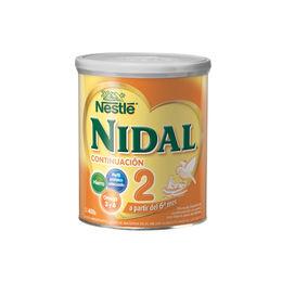 Fórmula infantil  Nidal 2 de 400grs