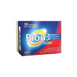 Multivitamínico con probióticos Bion 3 Mini en formato Masticable