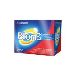 Multivitamínicos con probioticos Bion 3