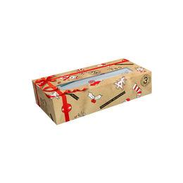 Caja de pañuelos desechables de Navidad