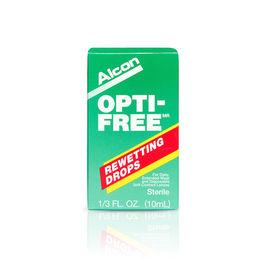 Gotas lubricantes y humectantes para lentes de contacto