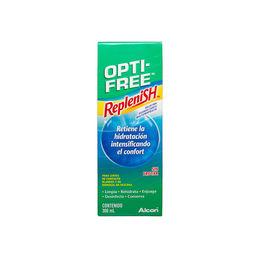 Solución de limpieza Replenish para lentes de contacto