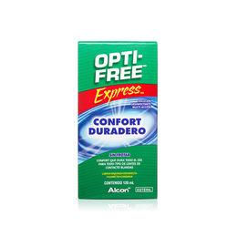 Solución de limpieza Express para lentes de contacto