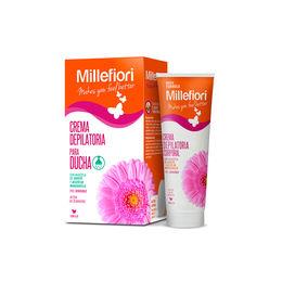 Crema depilatoria de ducha para piel sensible