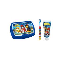 Pack infantil de pasta, cepillo y lonchera de Paw Patrol